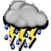 Zonguldak bugün sağanak yağmurlu, sıcaklık 10°C