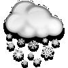 Isparta bugün karlı, sıcaklık 2°C